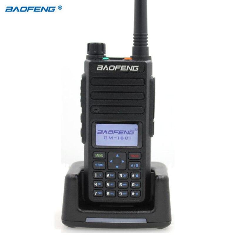 Baofeng DM-1801 цифровая рация VHF/UHF Двухдиапазонная DMR Tier1 Tier2 Tier II Dual time slot цифровая/аналоговая DM-860 радио 2020
