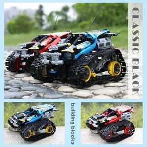 Image 5 - Dhlテクニックシリーズrcトラックの車セットビルディングブロックレンガ教育玩具互換性子供ギフト