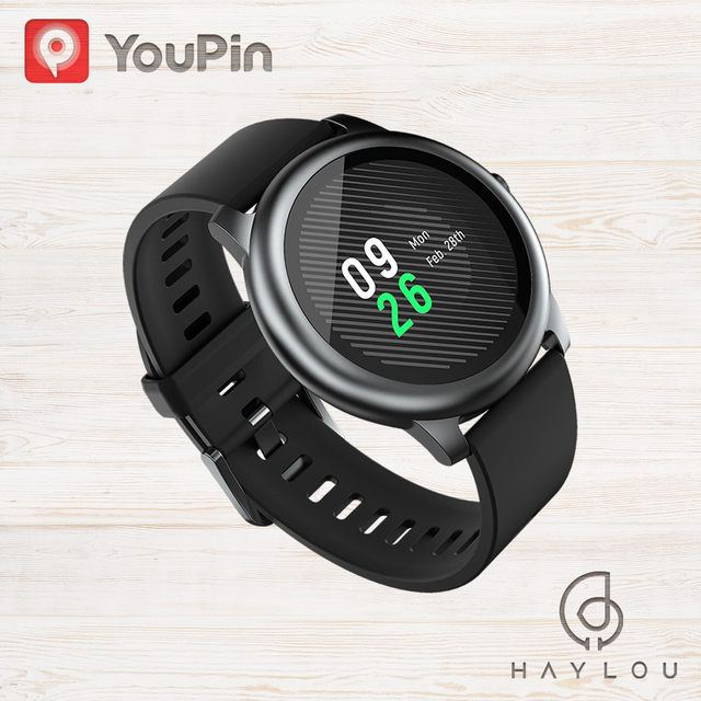 Haylou Solar LS05 Smart Watch Sport Heart Rate Sleep Monitor IP68 Waterproof iOS Android Global Version smartwatch 2