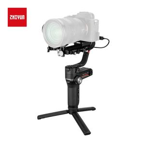 Image 5 - Zhiyun weebell S المحمولة 3 Axis يده مثبت أفقي شاشة OLED لكانون EOS R A7III A7M3 Z6 Z7 S1 المرآة