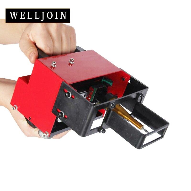 Taşınabilir işaretleme makinesi VIN kodu pnömatik nokta uç işaretleme makinesi (100*20mm) şasi numarası 220V