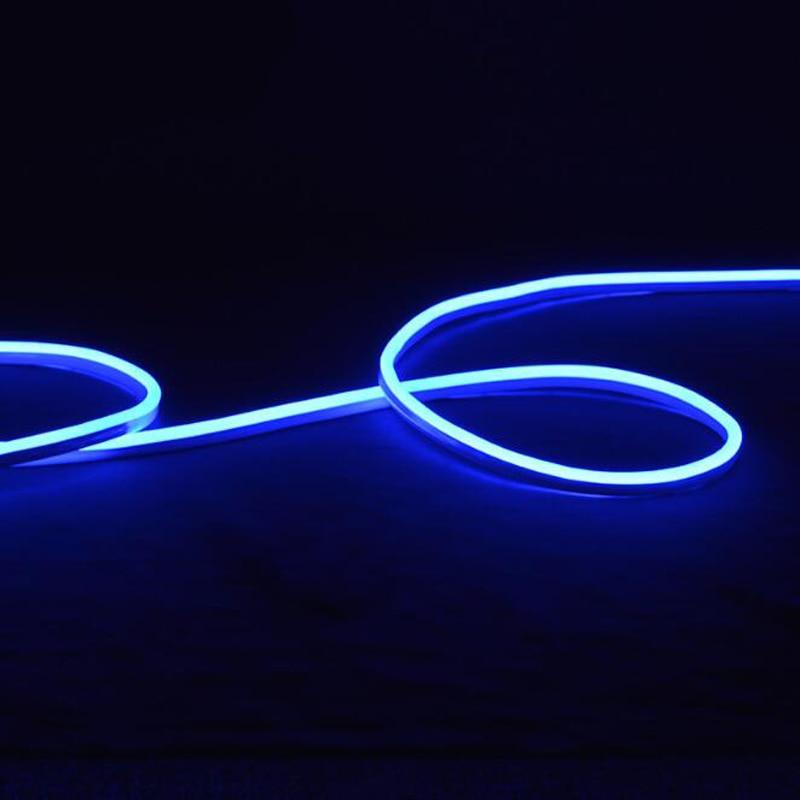 Fanlive супер яркий 50 м светодиодный неоновый свет 110 В 220 В Гибкая лампа красное украшение слоновая кость 80 светодиодный s/M светодиодная лента Водонепроницаемый свет Rgb - 4