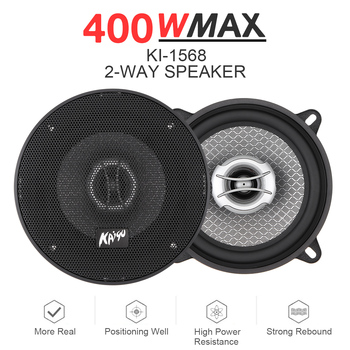 2pcs 5 Inch 400W Universal Car 2-Way Coaxial Speakers Audio Music Stereo Full Range Frequency Hifi for Car Home Auto Stereo