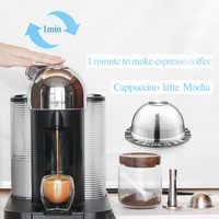 Filtros de café Vertuo reutilizables para cápsulas de café de acero inoxidable recargables DE LA GCA1 y Delonghi ENV135