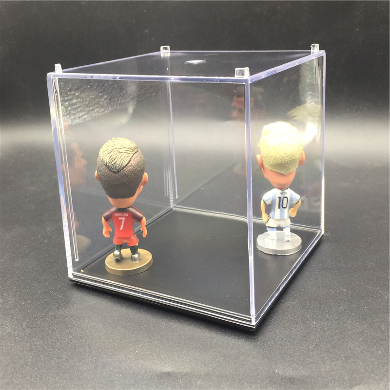 Image 5 - Acrylic Transparent Middle Size 10*10*10 cm 1 Layer Display Box for Soccerwe Soccer Star Ronaldinho Dolls 4 8 pcs Showmessi dolldoll dolldolls dolls dolls -