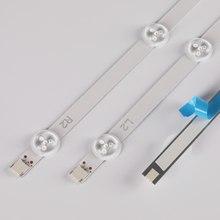 12 Pz/set striscia di Retroilluminazione A LED perfetto compatibile per LG 50LN 5100 50LN5700 50LN5600 50LN5400 LC500DUE-SFR2