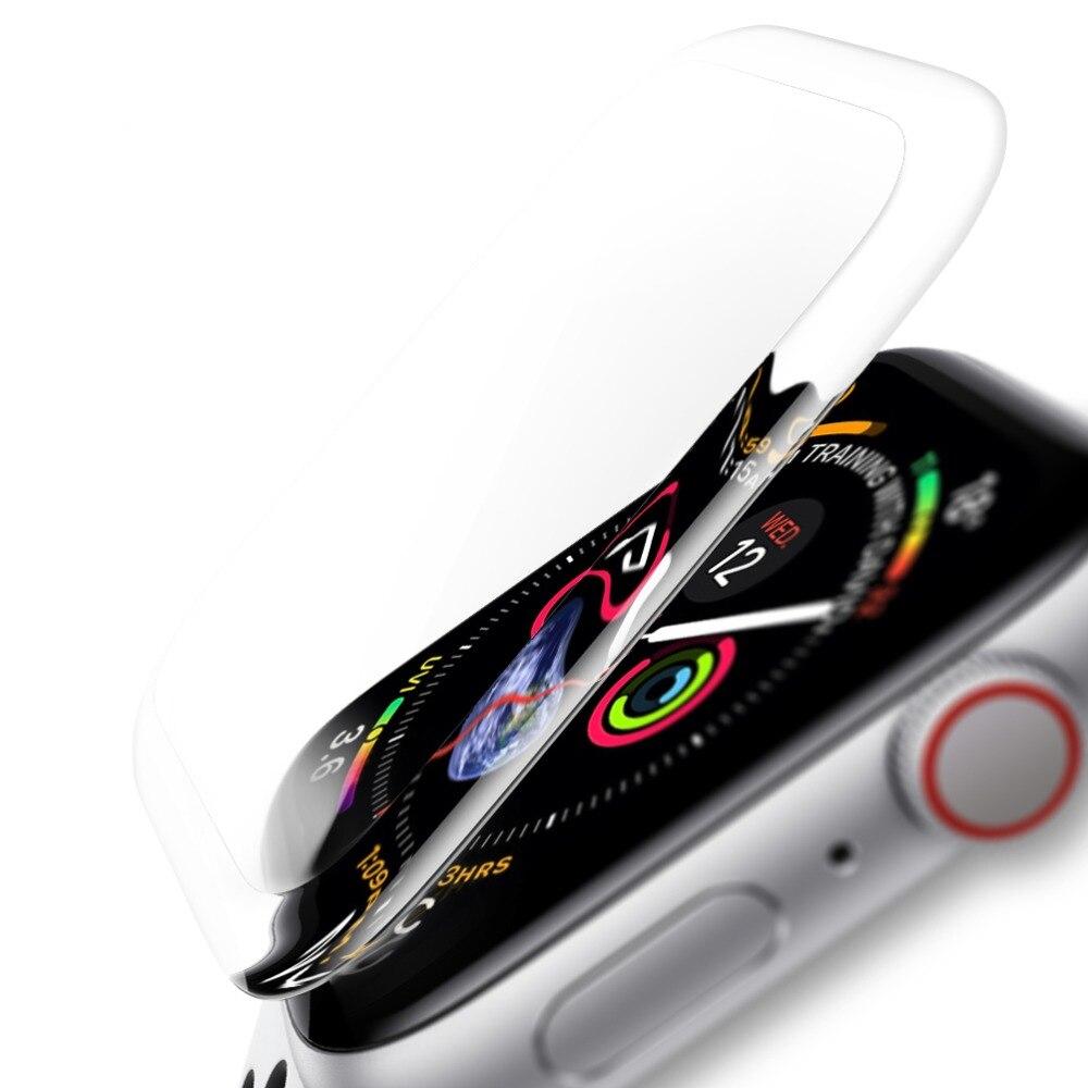 Full Screen Saver Tempered Glass For Apple Watch 38mm 42mm 40mm 44mm Glass Screen Protector For Iwatch Series 4 3 2 1