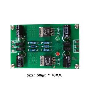 Image 4 - LT1963A LT3015 חיובי ושלילי מתח DC DC דיוק רעש נמוך ליניארי מוסדר אספקת חשמל עבור Preamp DAC