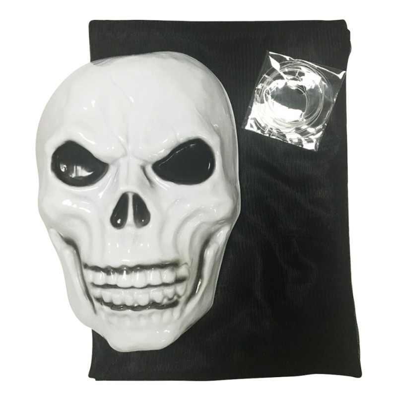 Squelette suspendu d'halloween de 3.3M de Long | Décorations de fantômes volants pour Bar fête intérieure en plein air, accessoires effrayants, décoration d'halloween
