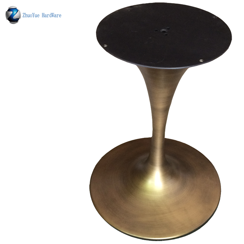 Cast Iron Dining Marble Table Legs Antique Metal Brushed Aluminum Saarinen Oval Tulip Coffee Table Base For Granite Tops Furniture Legs Aliexpress