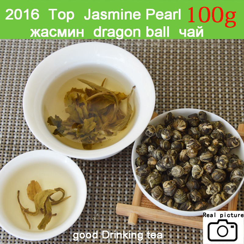 oolong teaNew Fresh Natural Organic Premium Chinese Jasmine Green Tea Jasmine Dragon Pearl Fragrance Slimming Flower Kung Fu Tea