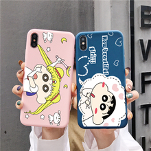 Mobile phone case for iPhone XS Max iphone X XR 6 6S 7 8 Plus spoof cartoon couple