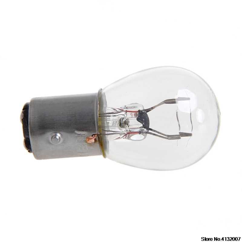 DC 12V 1157 10W אור הנורה רכב אוטומטי בלם להפסיק אות הפעל הפוך זנב מנורת S25 828 קידום