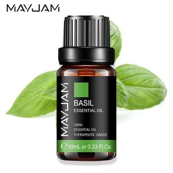 10ML Basil Cedarwood Pure Essential Oils Citronella Cinnamon Thyme Cypress Camphor Fennel Cloves Chamomile Eucalyptus Aroma Oil недорого