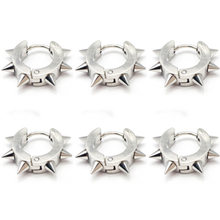 1PC Spike Punk Ohr Piercing Körper Schmuck Punk Ohr Knorpel Tragus Barbell Bar Ohrringe 316L Chirurgische Stahl Ohr Studs piercings(China)