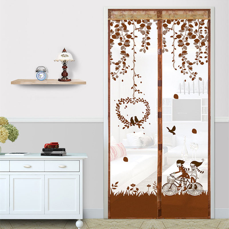 Home Magnetic Curtains Mosquito Net On Door Window Mesh With Magnets Insect Screen SER88