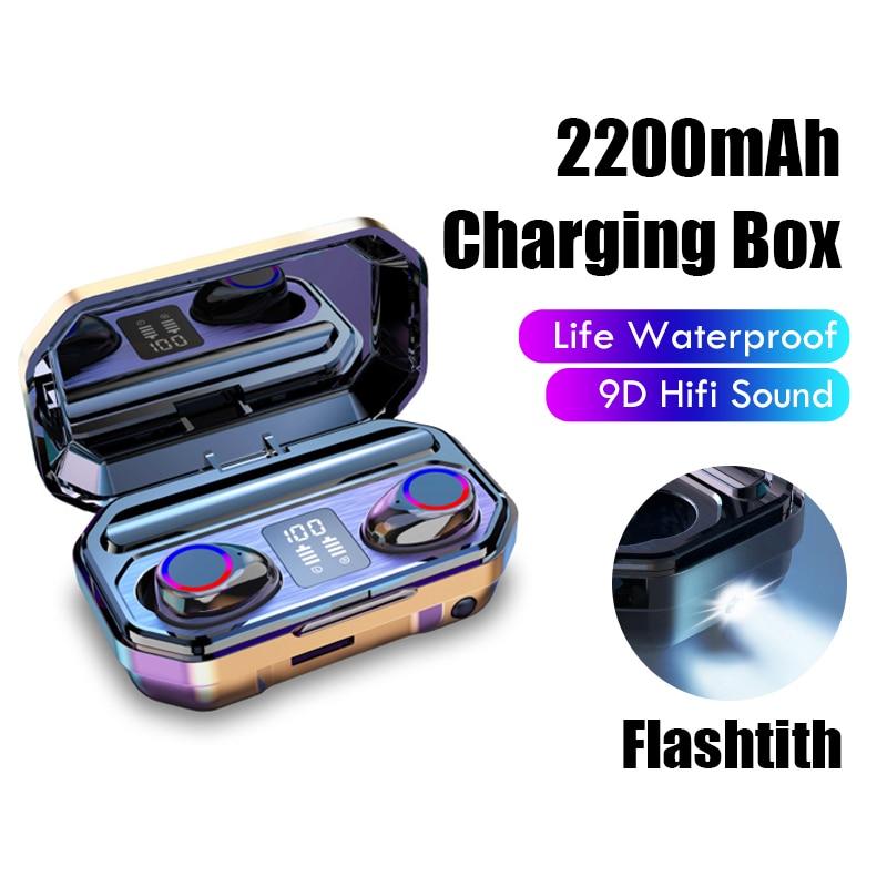 Brezžične bluetooth slušalke z mikrofonom imajo športne - Prenosni avdio in video - Fotografija 6