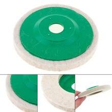 Прецизионная мягкая полировальная пластина из белой шерсти полировальный