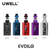 UWELL Evdilo Kit 5W-200W Valyrian II Tank support 18650/20700/21700 batteries E-cigarette Vape