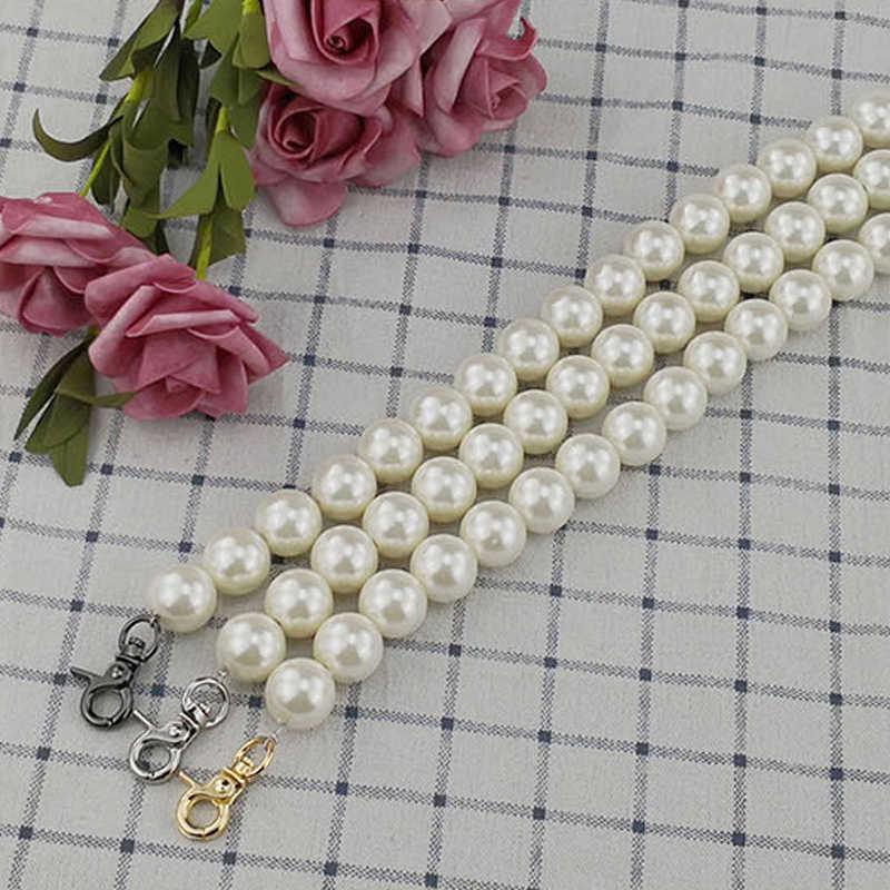 Beacone Imitation Rose Pearl Bead Chain Purse Handle Replacement Handbag Bag Strap Purse Making Supplies Handle Decoration Tie 11.8//30cm