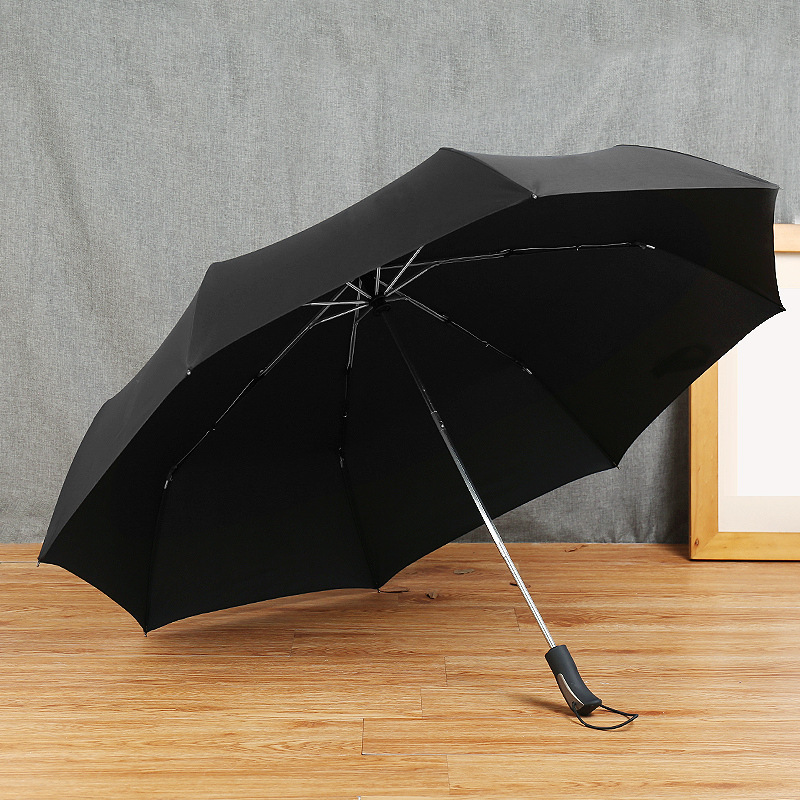 Amazon 27-Inch Fully Automatic Ultra Large Folding Golf Umbrella Top Grade Business Umbrella Advertising Umbrella a Generation o
