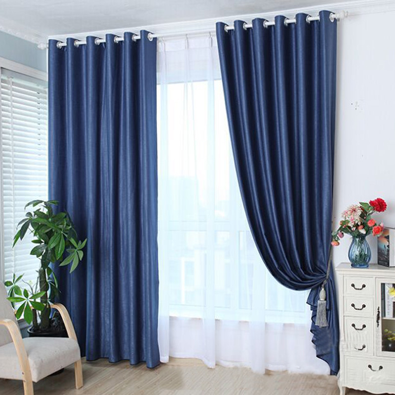 Thermal RING TOP Cotton Blackout PAIR Curtains Ready Made Fully Lined Curtains