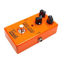 Distortion Single Effects Pedal Effector for Guitar Accompaniment Orange