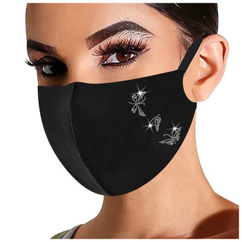Mouth Caps Breathable Adult Print Cover Reusable Washable Fabric MaskFor Unisex  Mouth Face mask  Outdoor Windproof Shield#3 недорого