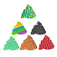 New Push Bubble Fidget Sensory Toy Autism Special Needs Fidget Squeeze Funny Anti-stress Stress Reliever Toys