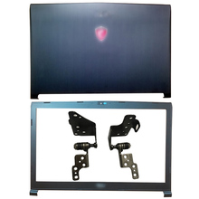 NEW Laptop LCD Back Cover/Front bezel/Hinges/Palmrest/Bottom Case For MSI GP72 GL72 GL72M MS-1795 MS-1799 MS-179B Plastic lcd lvds cable for msi ms 16g5 16gx ex60 ge620dx k19 3025024 h39