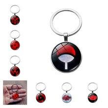 Keychain Pendant Naruto Cosplay-Accessories Sasuke Sharingan Akatsuki Uchiha Itachi Pain