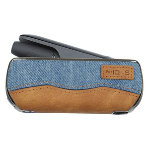 Image 4 - Denim Pressure Skin Cases For IQOS 3.0 Device Portable Anti Fall Protective Covers For Ecig Accessories