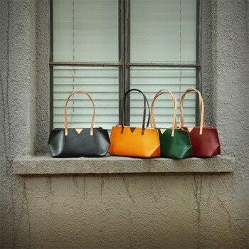 2019 New Original Genuine Leather Women's Bag, Women's Bag