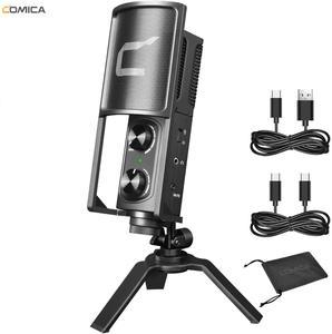 Image 1 - Comica STM USB usbタイプc用のスマートフォン/コンピュータ、スタジオ録音用マイクライブストリーム、podcaster