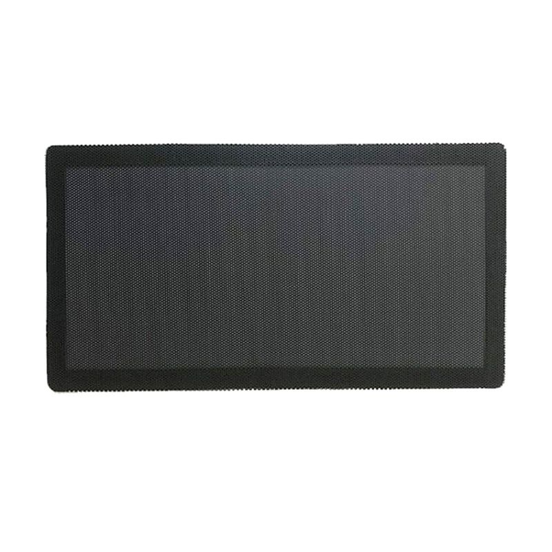 12x24CM Magnetic Dust Filter Dustproof PVC Mesh Net Cover Guard For PC Computer Case Cooling Fan Accessories