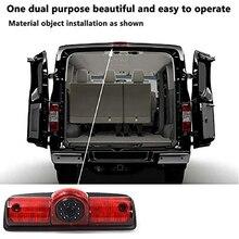 LED Brake Light Camera Waterproof Rear View Camera Night Vision Reversing for RAM PROMASTER Cargos Van
