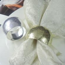 12 шт./лот, новые серебристые кольца для салфеток, декоративное кольцо для салфетки, держатель для свадьбы, вечерние украшения