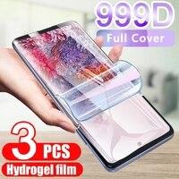 Hydrogel Film Screen Protector Voor Samsung Galaxy S21 S20 Ultra S9 S10 S8 Plus Voor Note 9 8 20 Ultra 10 A71 A52 Beschermhoes