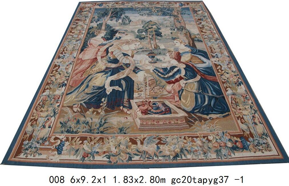 Franse Handgemaakte Antieke Kussen Bruin Modieuze Circulaire Home Decoratieve Kussen Sjaal Tafelkleed