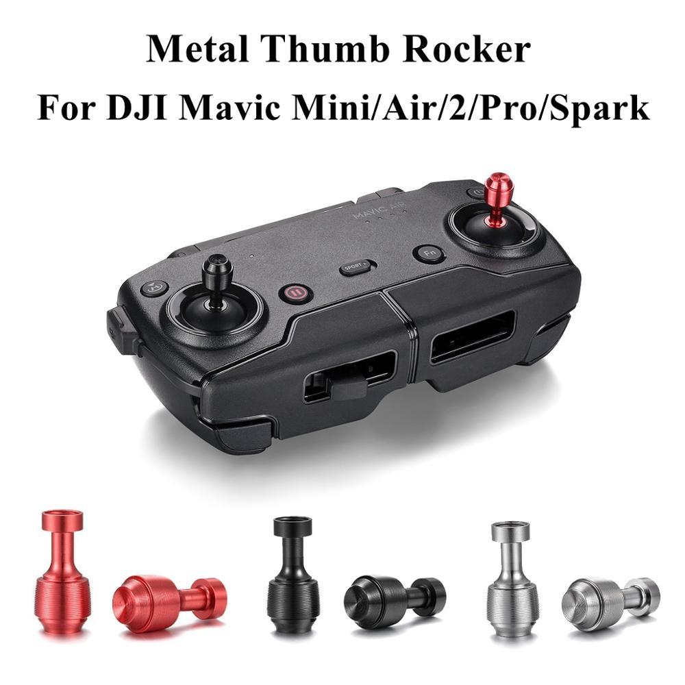 Mavic Mini/Pro/2/Air Remote Control Thumb Rocker Transmitter Joystick Holder Rod Stick Replace Handle For DJI Drone Accessories