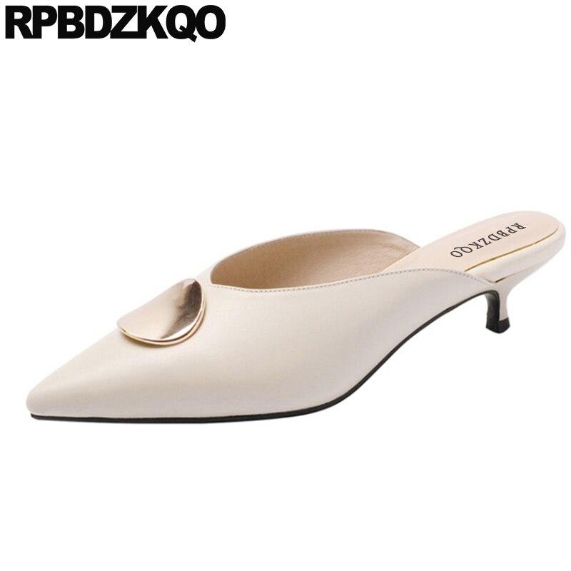 ladies kitten heels shoes pointed toe