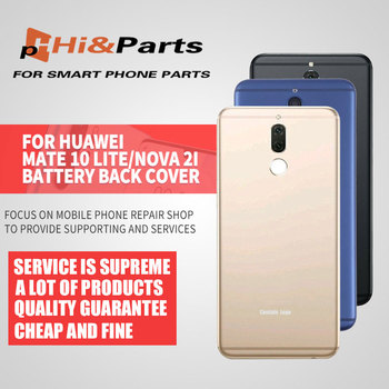 For Huawei Mate 10 lite Battery Cover G10 Rear Door Housing Back Case Replaced 5.9