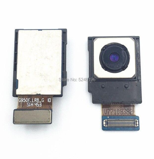 עבור סמסונג גלקסי S8 G950F S8 בתוספת G955F מקורי חזור אחורי גדול עיקרי מצלמה מודול להגמיש כבלים