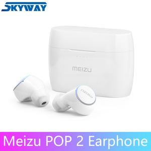 Image 1 - מקורי Meizu פופ 2 Bluetooth 5.0 אוזניות TW50S אלחוטי אוזניות IP5X בתוך אוזן ספורט אוזניות אוזניות עבור 16T הערה 9