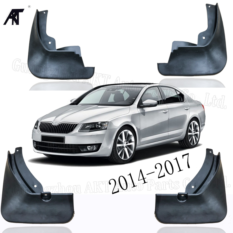 Set of 4, Black No Drilling Required MNJ Motor Upgraded Mud Flaps Splash Guards for Tesla Model 3 Fender Flares with Retainer Clips and Screw Full Protection