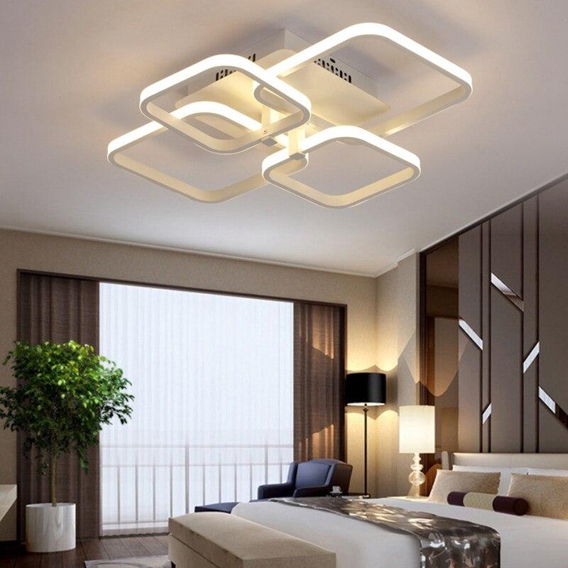 Luminária de teto em acrílico com controle