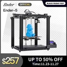 Ender 5 drukarki 3D wysokiej precyzji duży rozmiar płyty głównej Cmagnetic płyta, wyłączanie zasilania wznowić łatwe budowanie Creality 3D Ender5