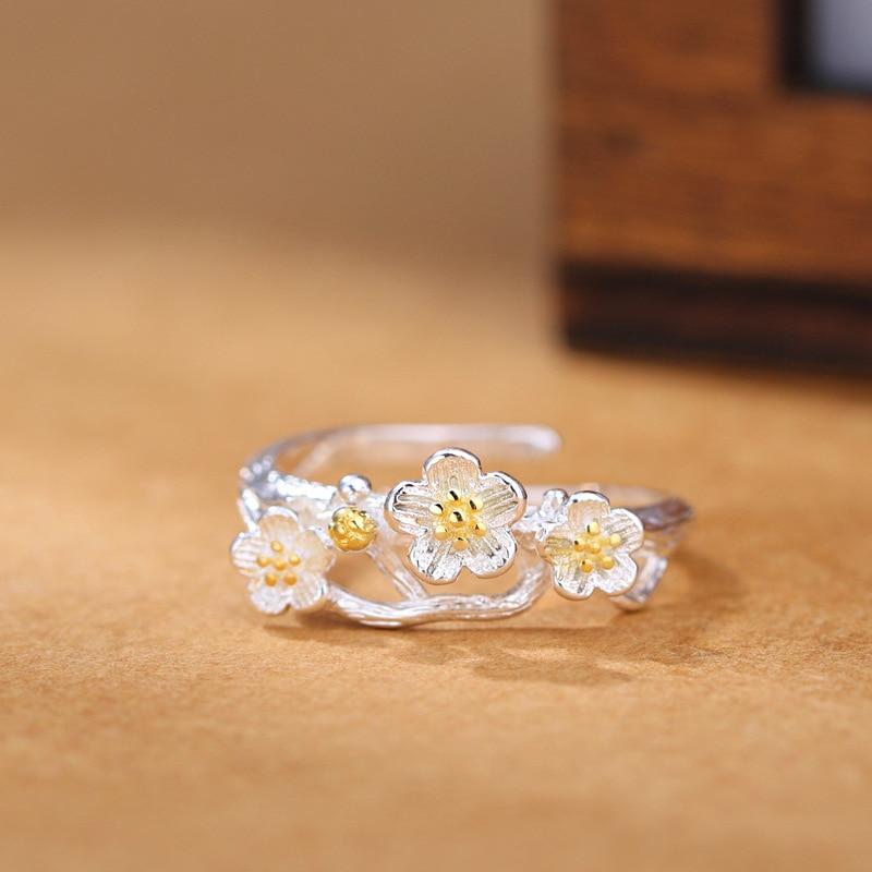 Nuevas llegadas 925 anillos de plata esterlina para mujer joyería de - Joyas - foto 3