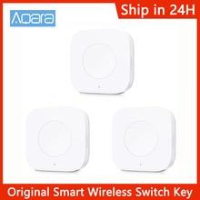Aqara interruptor inalámbrico inteligente, llave de aplicación, Control remoto ZigBee, conexión inalámbrica para Xiaomi Home, aplicación Mijia