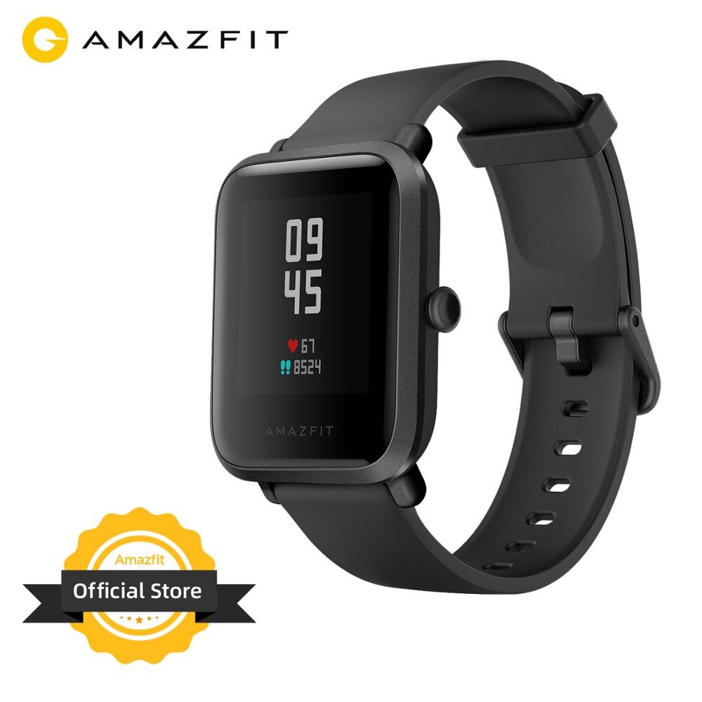 Новинка 2020 года! Смарт часы Amazfit Bip S, 5ATM, водонепроницаемые, встроенный GPS, GLONASS, Bluetooth, умные часы для телефона на Android iOS|Смарт-часы|   | АлиЭкспресс
